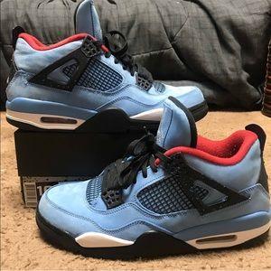 ❌SOLD❌ Air Jordan 4 Travis Scott Cactus Jack